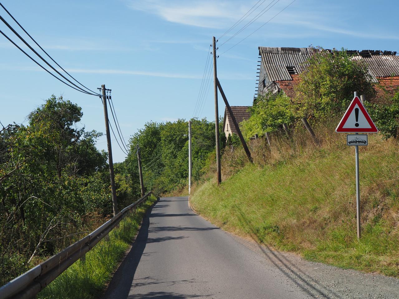 asfaltweggetje bij Kahlenberg
