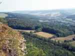 onderweg op de Kleiner Hörselberg