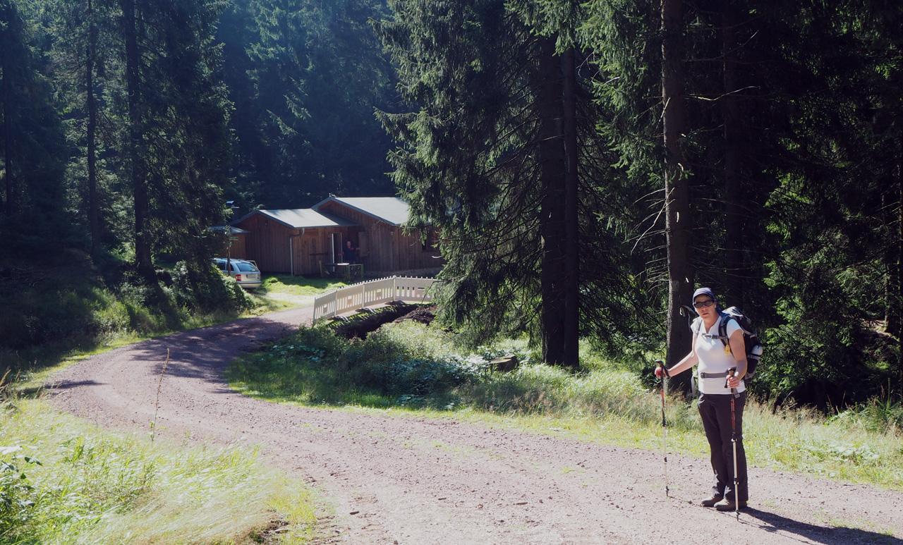 bij de Dürrenberger Hütte