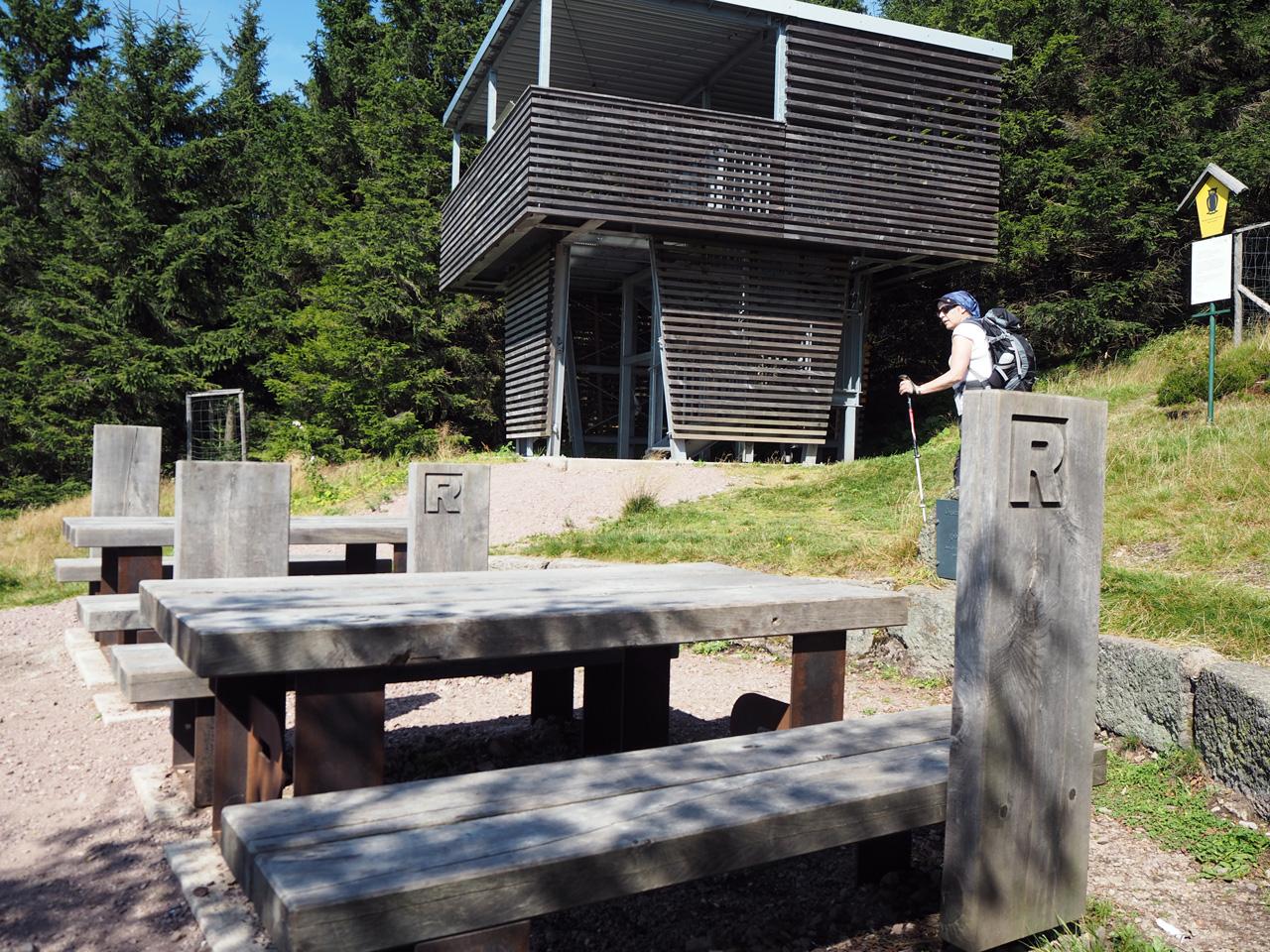 Plänckners Aussicht op de Grosser Beerberg