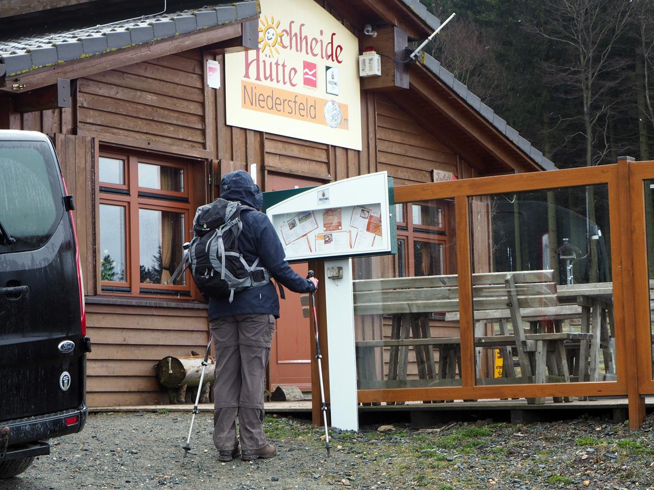 bij de Hochheide Hütte