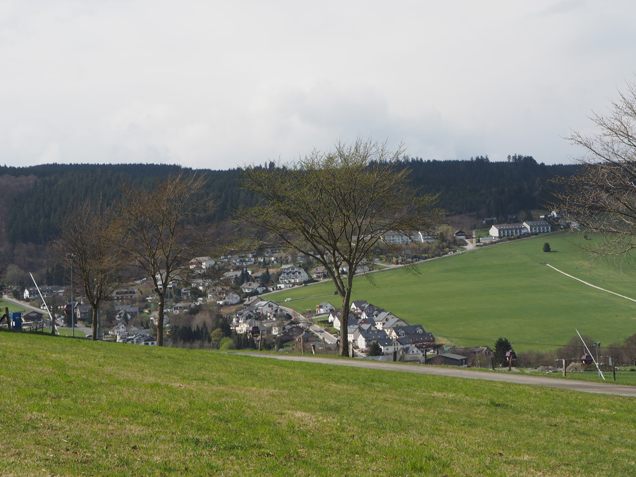 skihellingen en Sauerland Stern Hotel