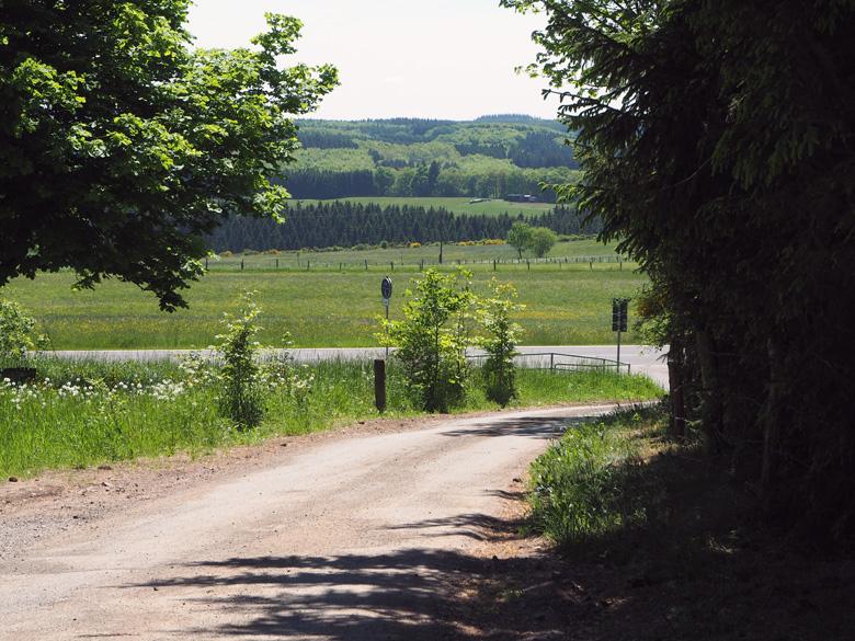 wandelen rond Benenberg