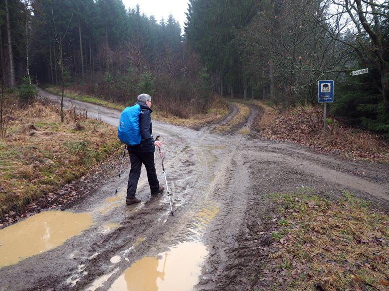 onderweg op de Kriegerweg