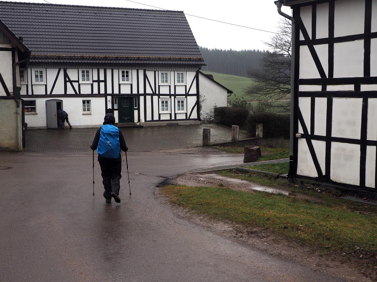 Fachwerk woningen in Böminghausen