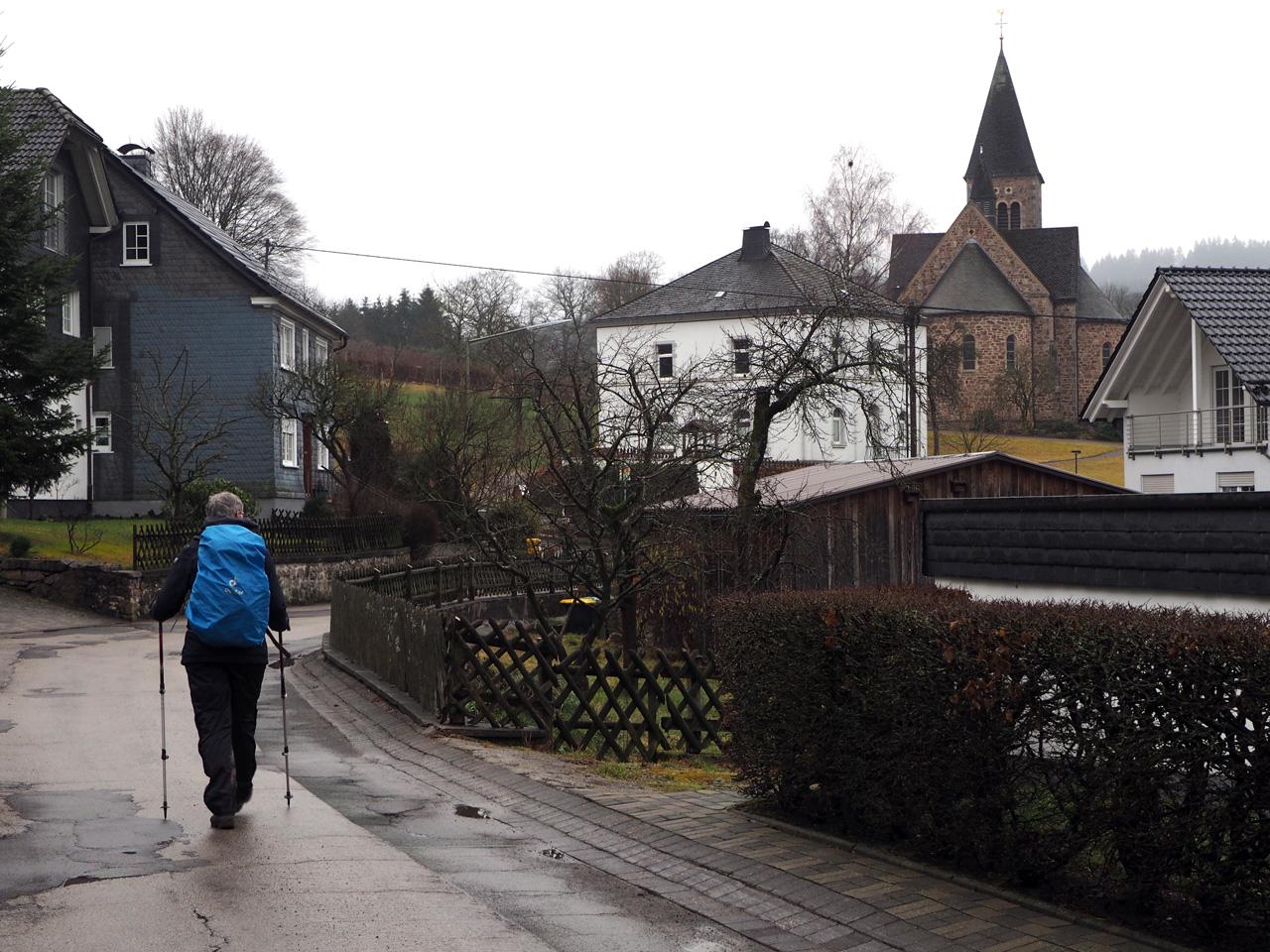 terug in Nieder-Albaum