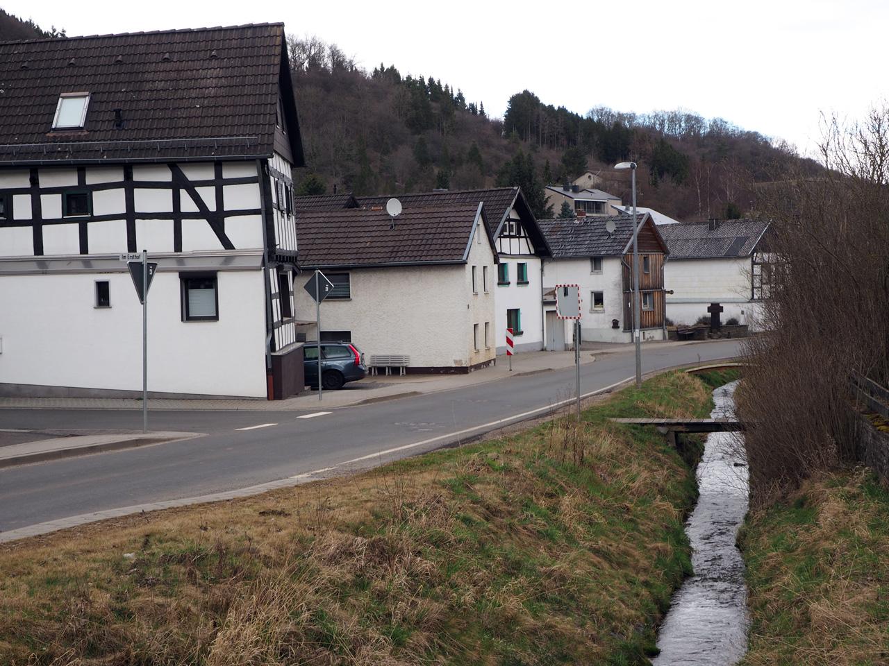het dorpje Vollem