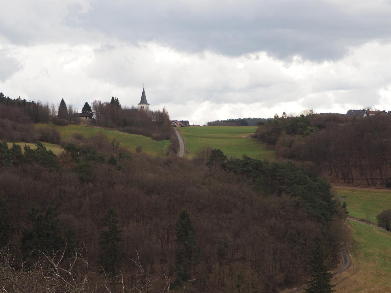 het topkruis op de Eulenberg