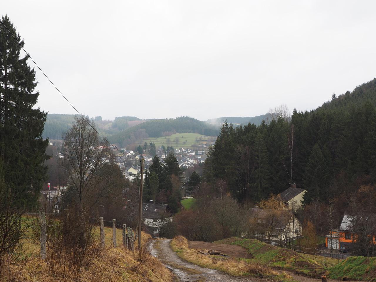 uitzicht op Hellenthal