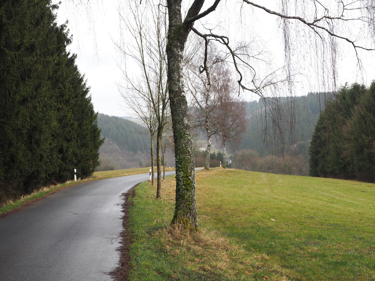 een rustige weg naar Oberreifferscheid