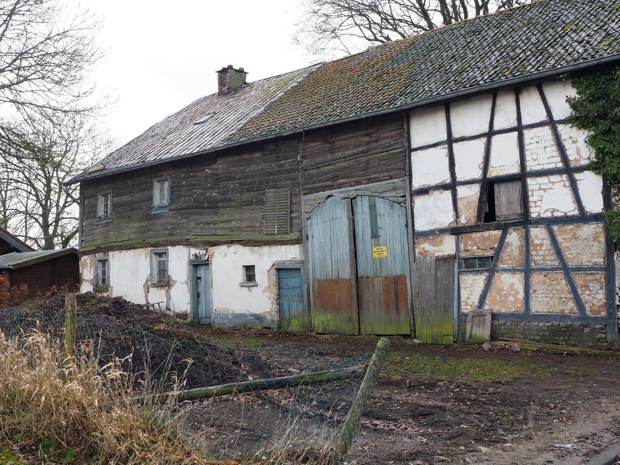oude boerderijen in Oberreifferscheid
