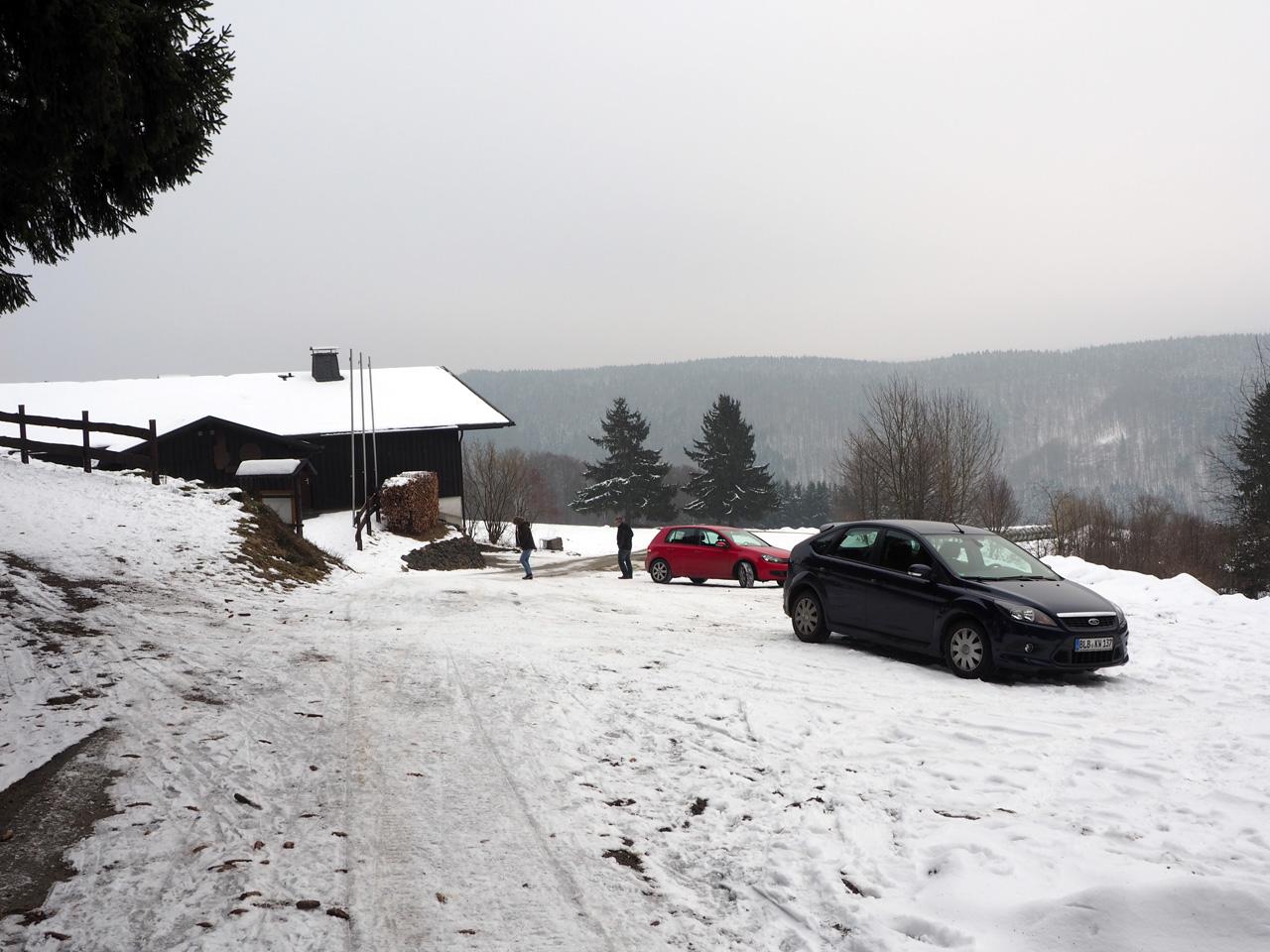 Ski-Hütte Girkhausen gevonden