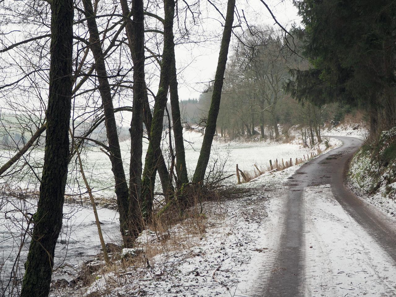 wandelpad langs de Lenne
