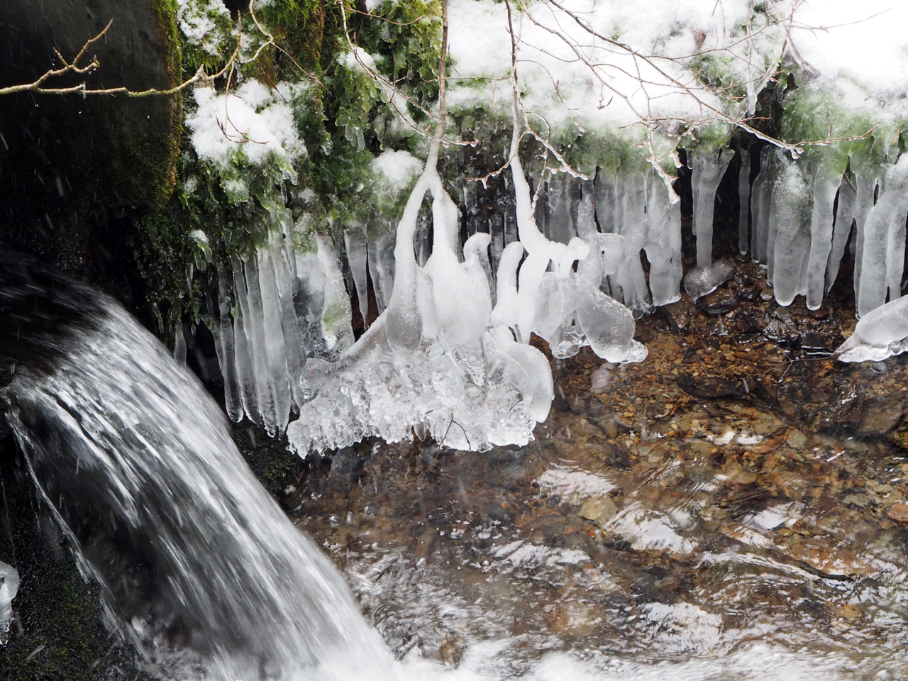 ijsafzettingen in het Weinkännchen