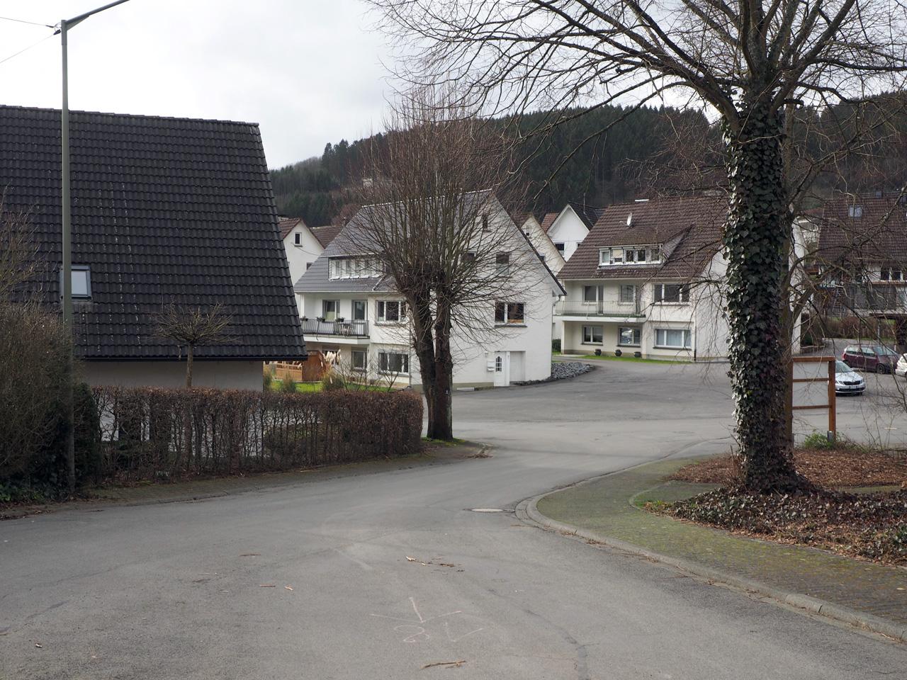 aankomst in Saalhausen