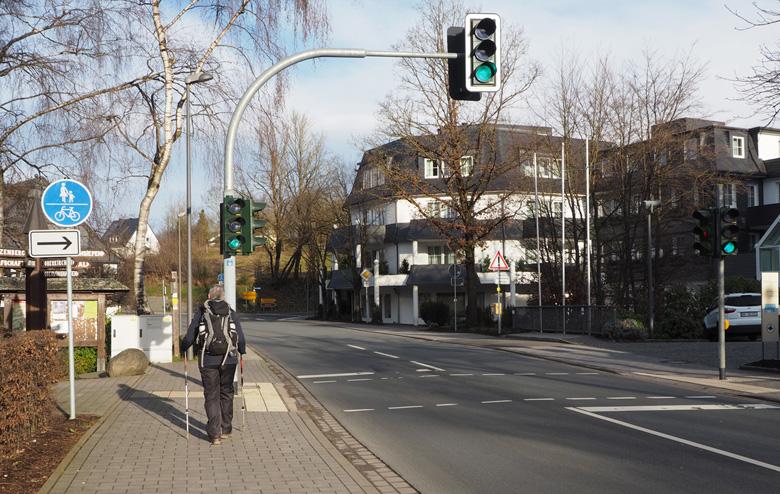 verkeerslichten centrum Winkhausen