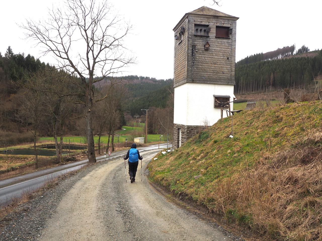 Lengenbeck, samenloop van de Nesselbach en Lenne