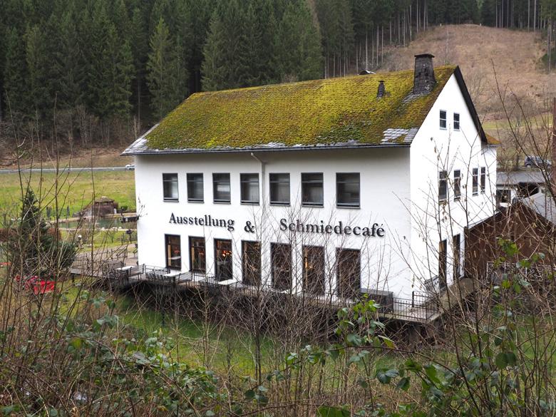 Ausstellung & Schmiedecafé