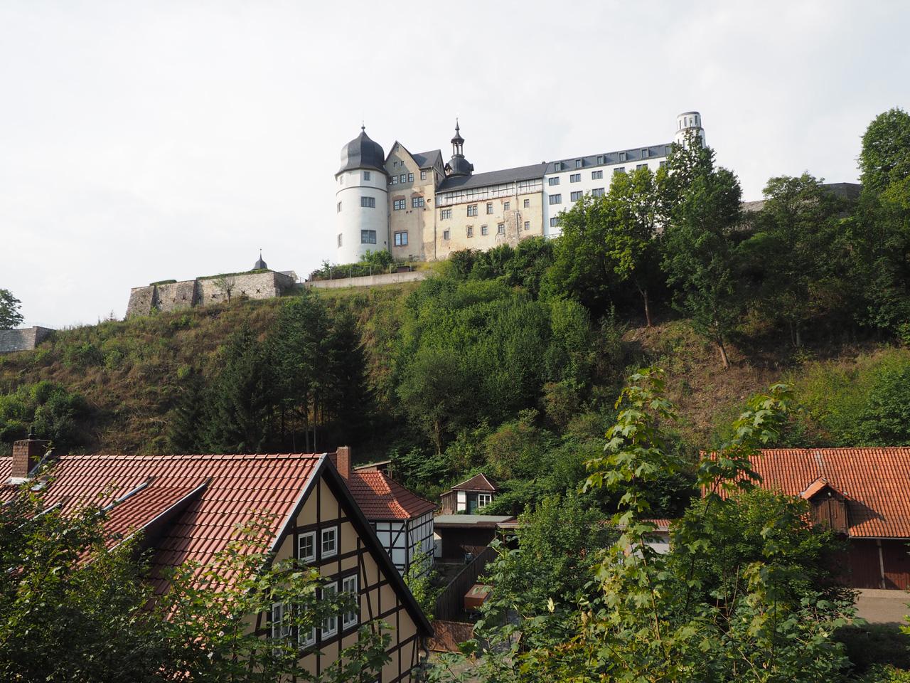 zicht op Schloss Stolberg