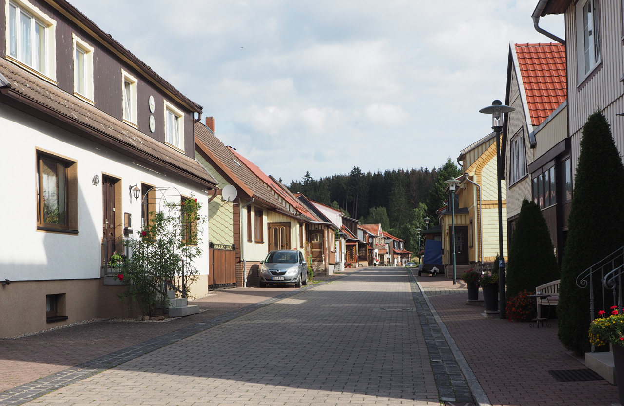 de Sägemühlenstrasse in Trautenstein