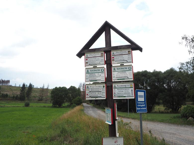 terug richting Trautenstein