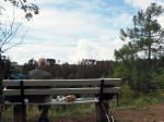 lunchen bij de Burgruïne Trageburg