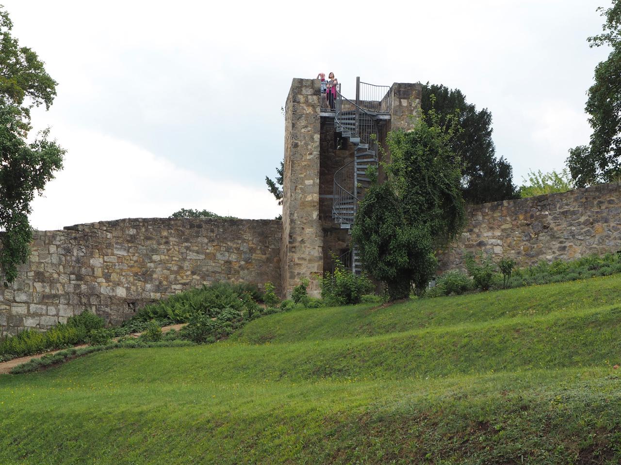 de gerestaureerde uitzichttoren