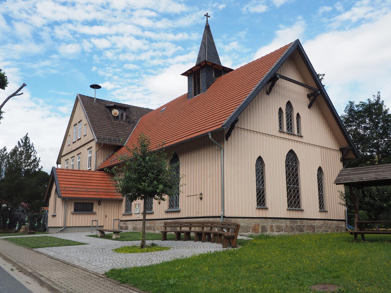 de houten kerk in Königshütte