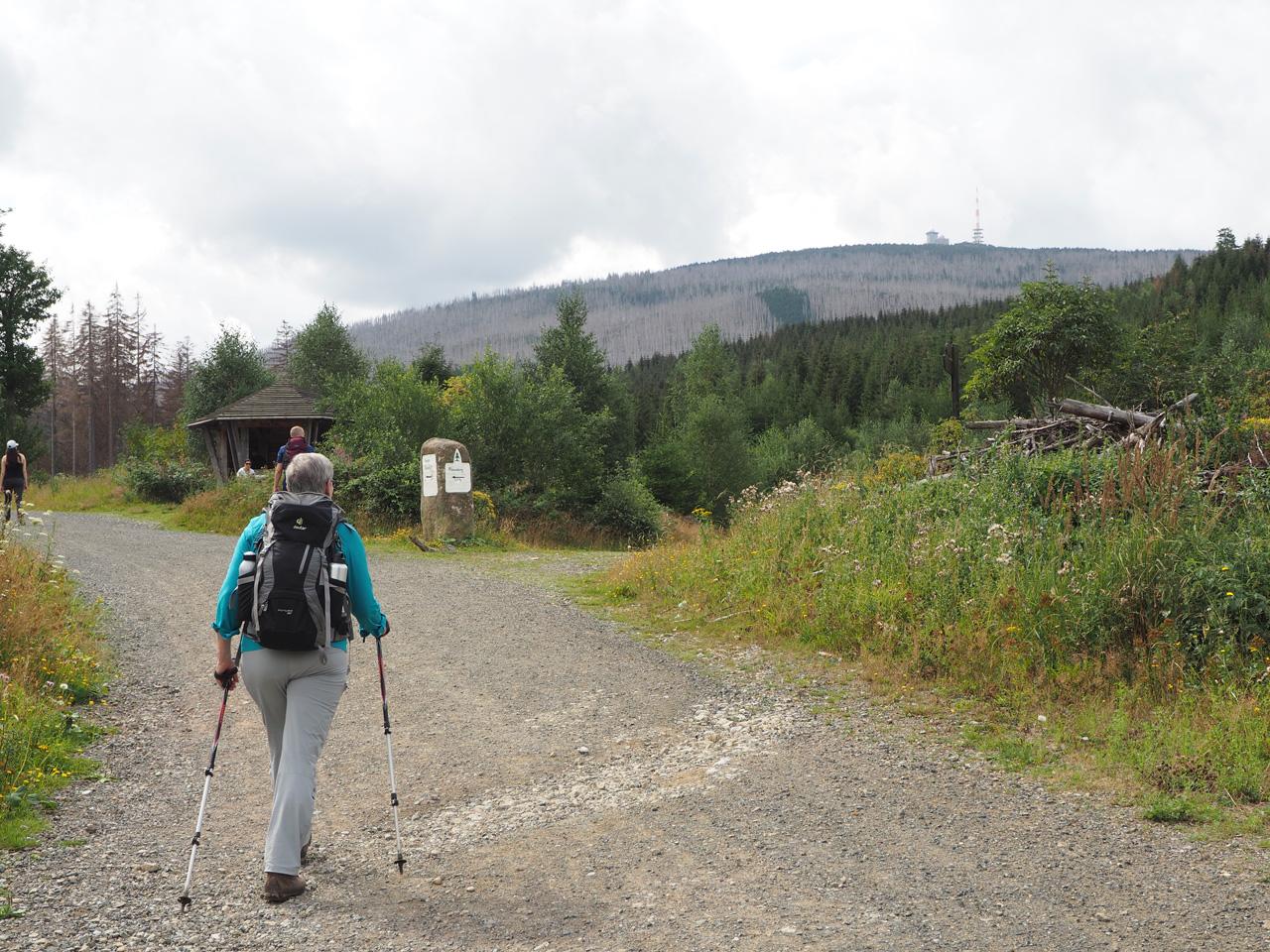 de Bremer Hütte komt in zicht