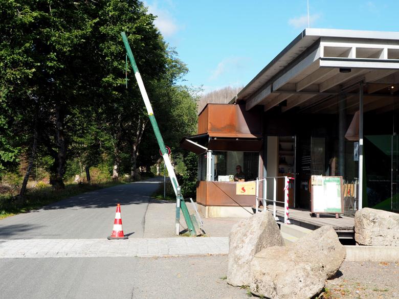 het Nationalparkhaus Schierke