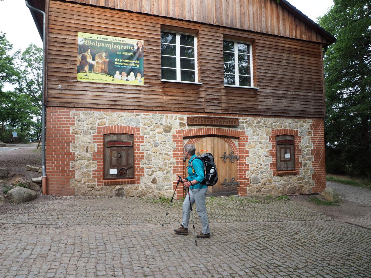 aankomst bij het Harzeum