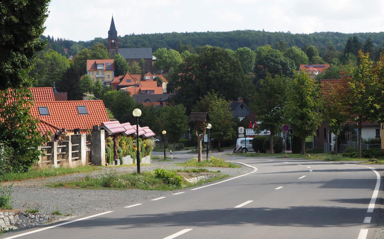 zicht op Friedrichsbrunn