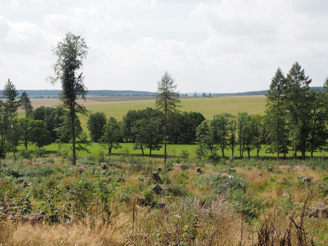 uitzicht richting Güntersberge