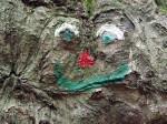 kunstwerkjes langs het holle bergpad