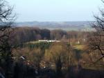 Schloss Tecklenburg op de berg