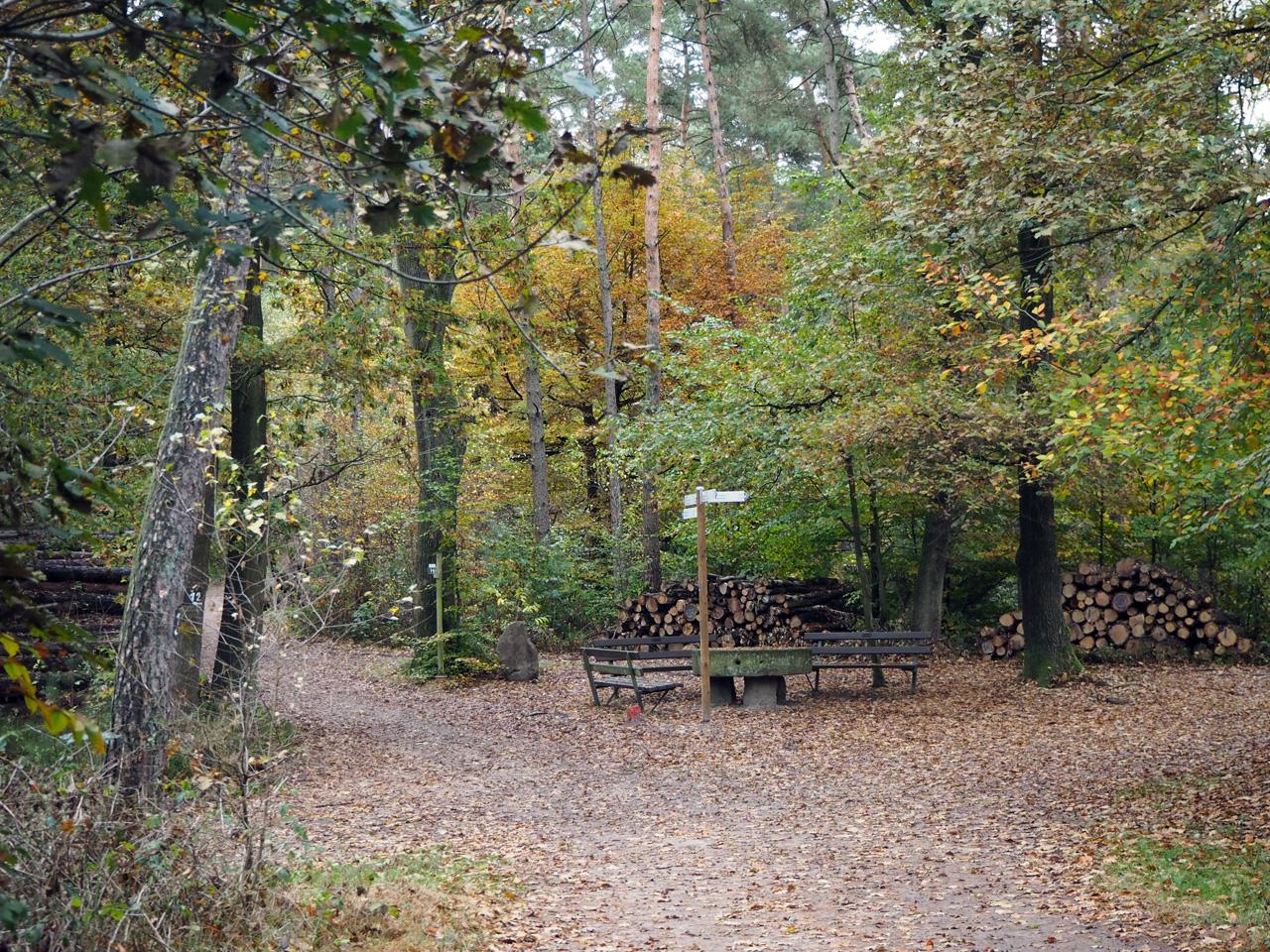kruispunt bij de Schinkensteinhütte