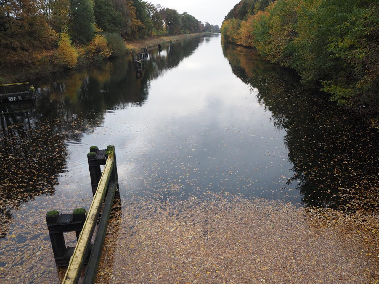uitkijken over het Mittellandkanal