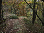 rotsen en grotten bij Reisenbeck