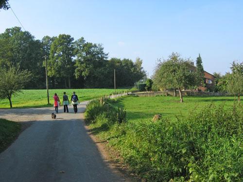 richting de buurtschap Egelkamp