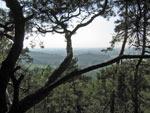 uitzicht vanaf de Dorenther Klippen