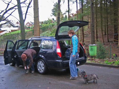 parkeerplaats Zum Brunnen