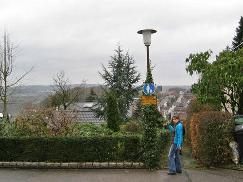 uitzicht over het dorp