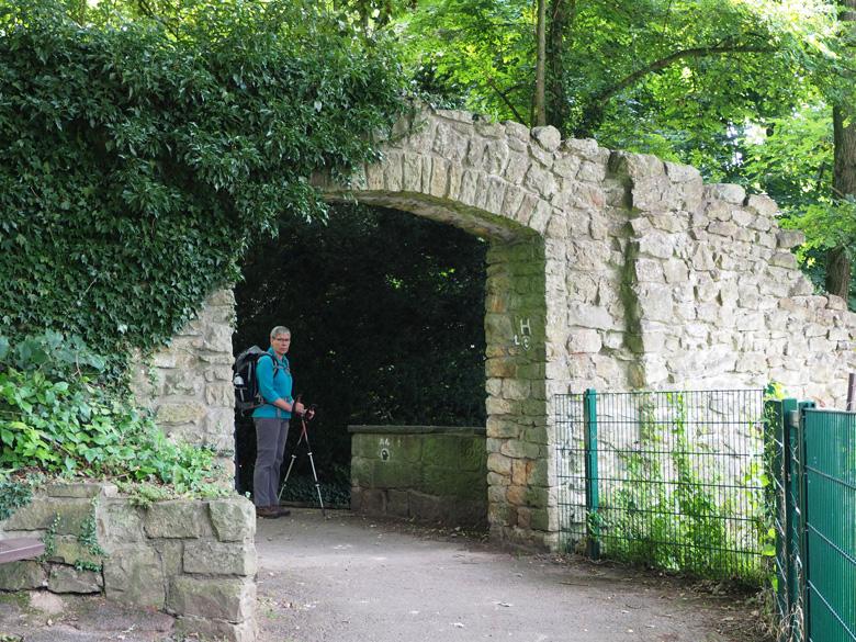 poort naar de Altstad Tecklenburg