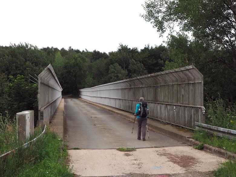 brug over de A1 Autobahn