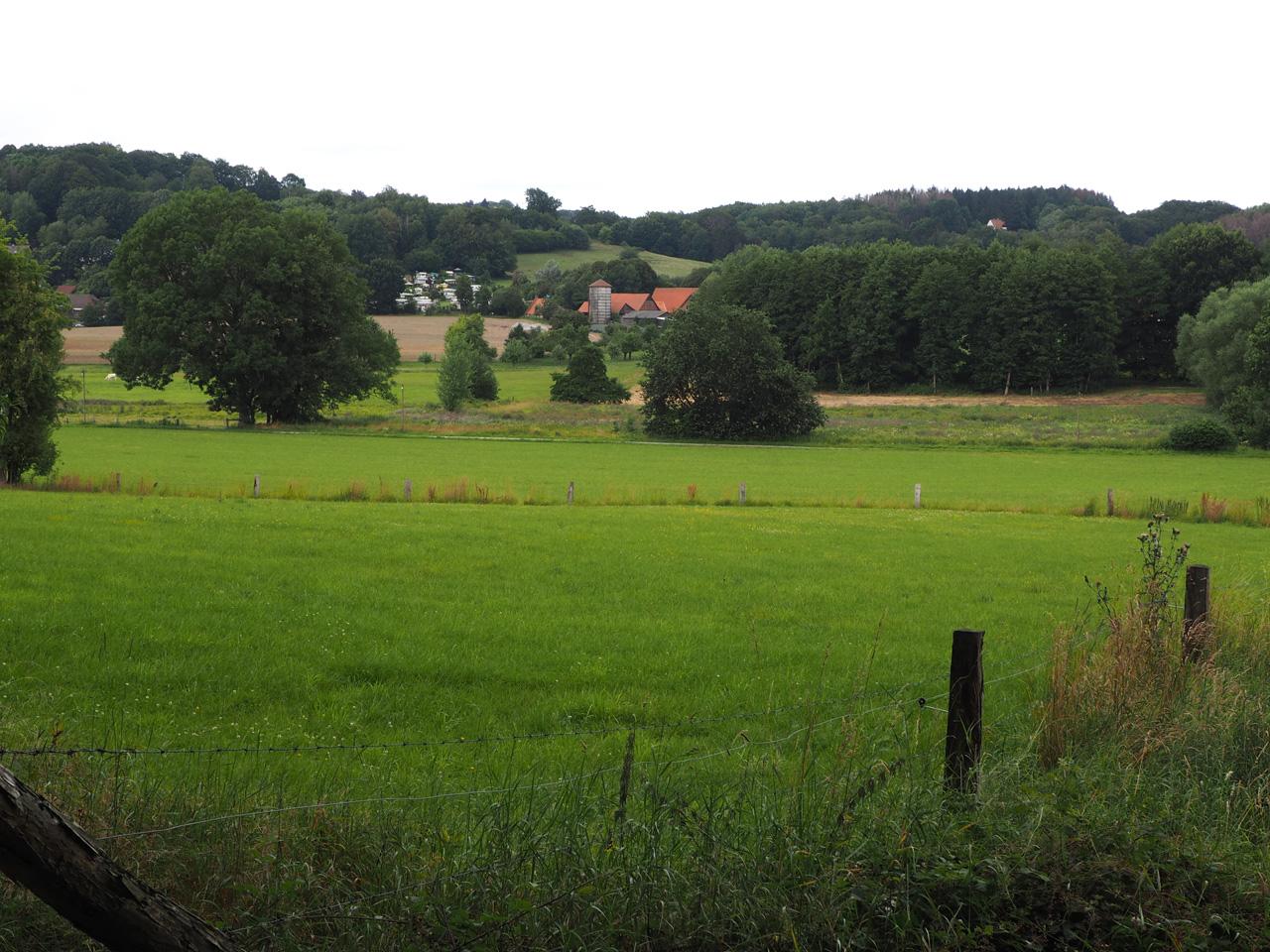 het dal onder Tecklenburg