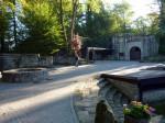 rond de Burg Ruïne Tecklenburg