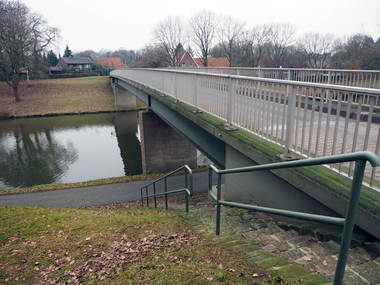 de brug bij Hüntel