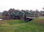 schuilhut bij de oude brug over de Eems