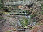 de Grüner See en een waterval