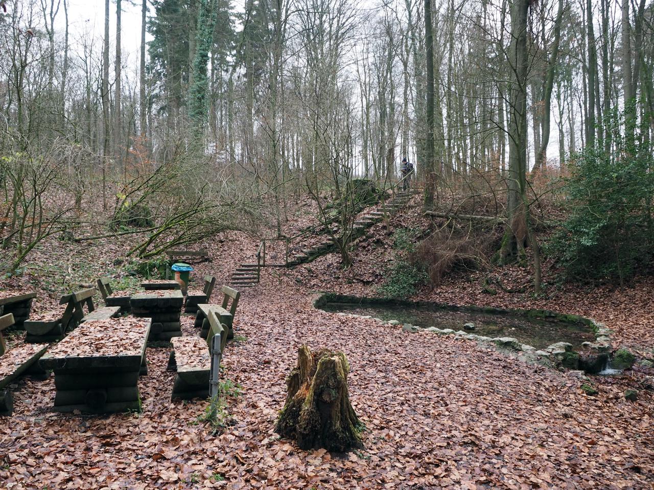 picknickplek bij de Quelle